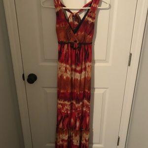 Beautiful Floor length summer dress. Size XS